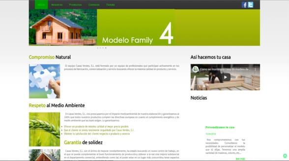Casas verdes web